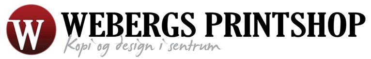Logo, Webergs Printshop